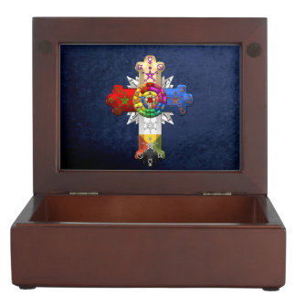 [210] Rosy Cross (Rose Croix) Keepsake Box