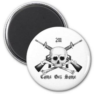 2111 Armorer Come Get Some 6 Cm Round Magnet