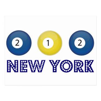 212 New York Postcard