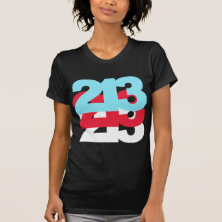 213 Area Code Tshirt