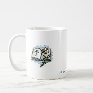 21566246[1] Lord, you are the Word and I am healed Basic White Mug