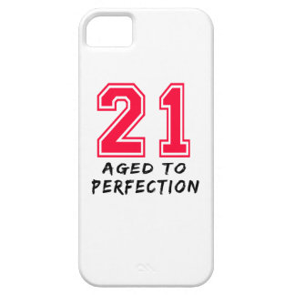 21 Aged To Perfection Birthday Design iPhone 5 Cases