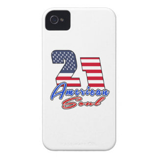 21 American Soul Birthday Designs Case-Mate iPhone 4 Cases