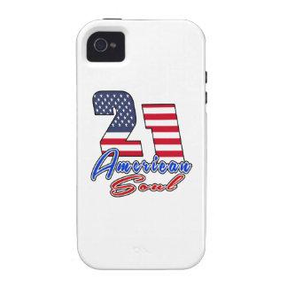 21 American Soul Birthday Designs iPhone 4/4S Case