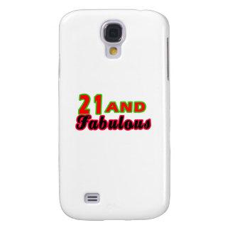 21 and Fabulous Birthday Designs HTC Vivid / Raider 4G Cover