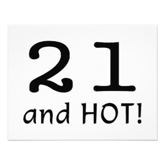 21 And Hot Announcement