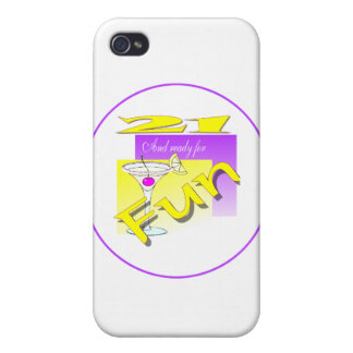 21 And Ready For Fun iPhone 4 Cases