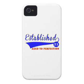 21 Birthday Aged To Perfection iPhone 4 Cover
