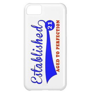 21 Birthday Aged To Perfection iPhone 5C Cover