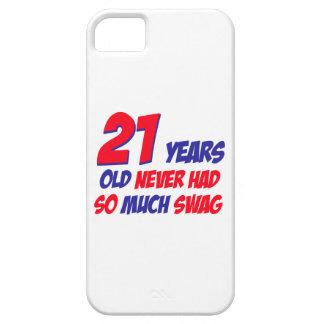 21 birthday design iPhone 5 covers