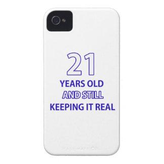 21  birthday design iPhone 4 cases