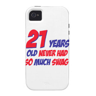 21 birthday design case for the iPhone 4