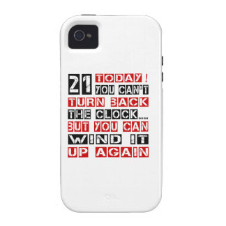 21 Birthday Designs Case-Mate iPhone 4 Covers