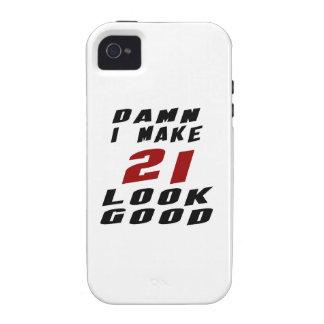 21 Birthday Designs Vibe iPhone 4 Case