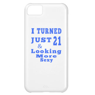 21 birthday designs cover for iPhone 5C