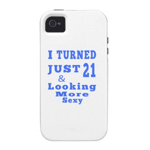 21 birthday designs iPhone 4/4S case
