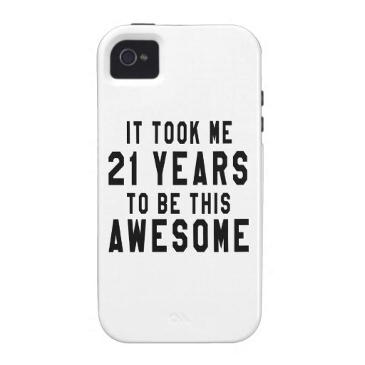 21 birthday designs iPhone 4 case