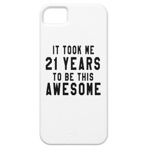 21 birthday designs cover for iPhone 5/5S