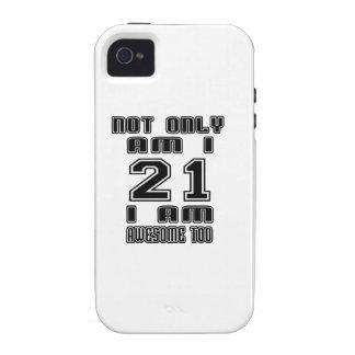 21 Birthday Designs iPhone 4/4S Case