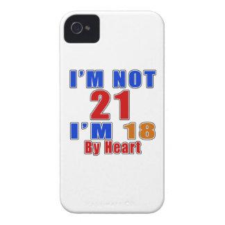 21 Birthday Designs iPhone 4 Case