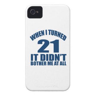 21 Birthday Designs iPhone 4 Case-Mate Cases