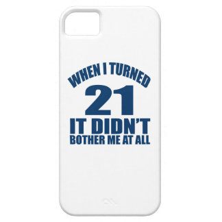 21 Birthday Designs iPhone 5 Cover