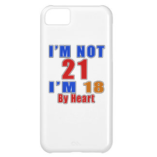 21 Birthday Designs iPhone 5C Case