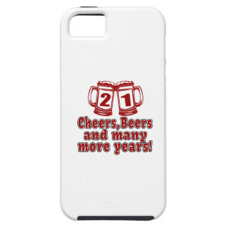 21 Cheers Beers Birthday Designs iPhone 5 Cover