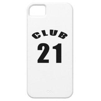 21 Club Birthday Designs iPhone 5 Cover