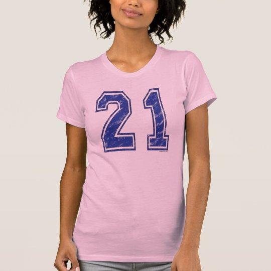 21 Custom Jersey T-Shirt