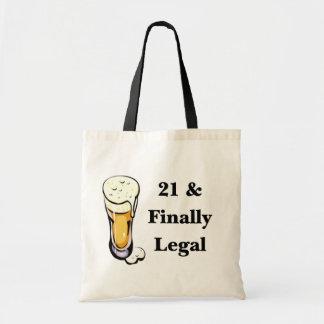 21 & Finally Legal Bags