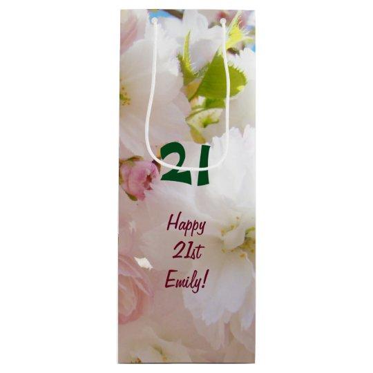 21 Gift Bags Happy 21st Birthday Birthdays Custom