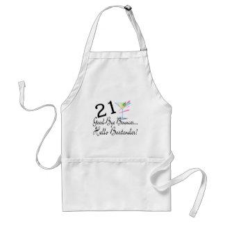 21 Good Bye Bouncer Hello Bartender Standard Apron