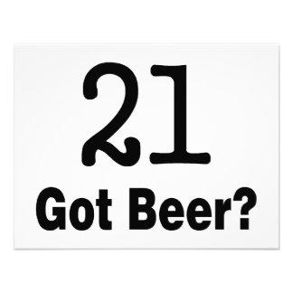 21 Got Beer Invites
