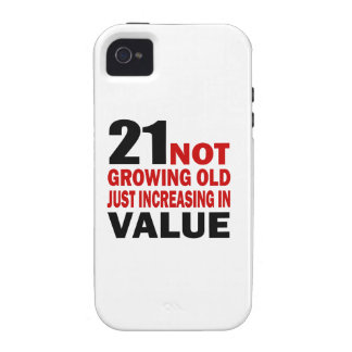 21 Just Growing Old Birthday Designs Vibe iPhone 4 Case
