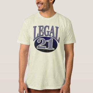 21 & Legal Birthday Shirt
