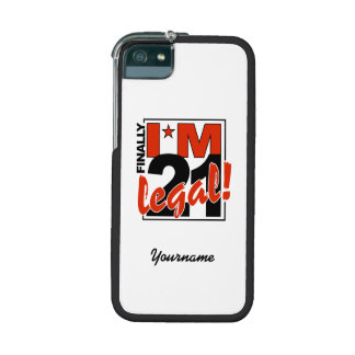 21 & LEGAL cases Cover For iPhone 5/5S