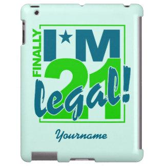 21 & LEGAL custom cases iPad Case