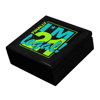 21 & LEGAL jewelry / gift box