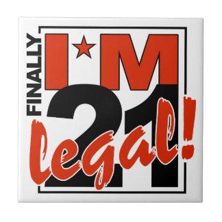 21 & LEGAL tile