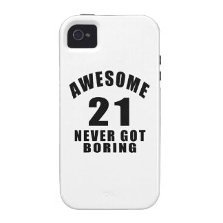21 never got boring vibe iPhone 4 covers