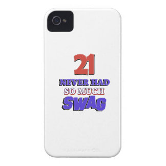 21 Never Had So Much Swag Designs Case-Mate iPhone 4 Cases