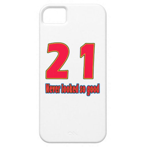 21 never looked so good birthday designs iPhone 5 covers