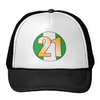 21 NIGERIA Gold Cap