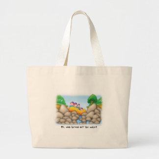 21_no_water large tote bag