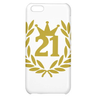 21-real-laurel-crown case for iPhone 5C