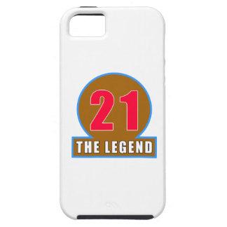 21 The Legend Birthday Designs iPhone 5 Case