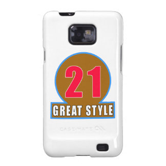 21 The Style Birthday Designs Samsung Galaxy SII Covers