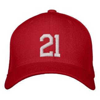 21 Twenty One Embroidered Hats