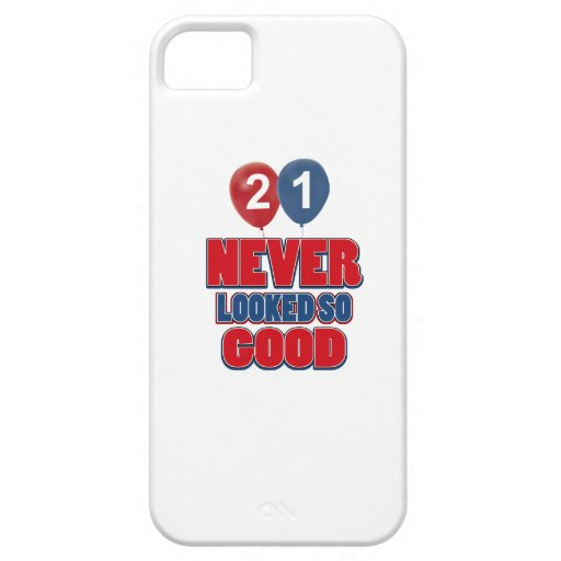 21 year old birthday designs iPhone 5 case